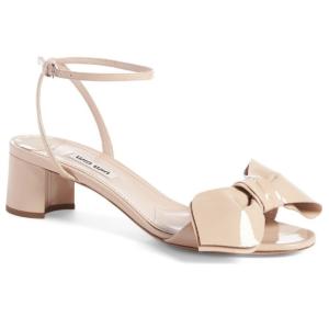 Miu Miu Strappy Bow Sandal (Women)