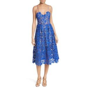 'Azaelea' Lace Fit & Flare Dress