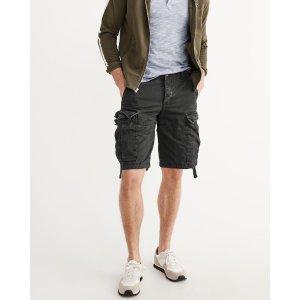 Mens Cargo Shorts | Mens New Arrivals | Abercrombie.com