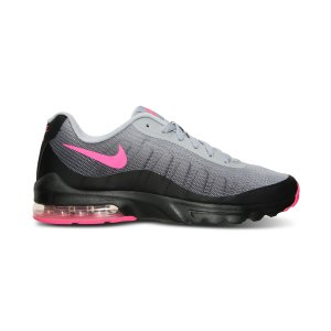 Nike Big Girls' Air Max Invigor Running Sneakers from Finish Line - Finish Line Athletic Shoes - Kids & Baby - Macy's