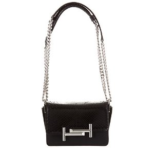 TOD's Micro Double T Embossed Leather Crossbody