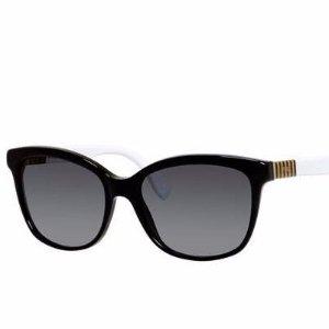 Fendi Gradient Acetate Square Sunglasses