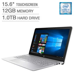 $599HP Pavilion 15t Touchscreen Laptop(8th i7,12GB,1TB)