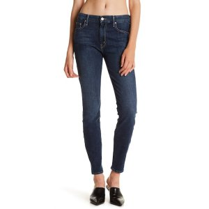 The Looker High Rise Skinny Jeans