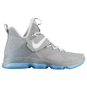 Nike LeBron 14 - Men's - Basketball - Shoes - LeBron James - Matte Silver/White Glow