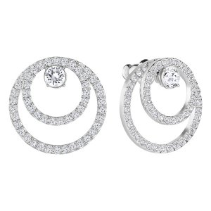 Creativity Circle Pierced Earrings - EXCLUSIVE PRE-SALE - Swarovski Online Shop