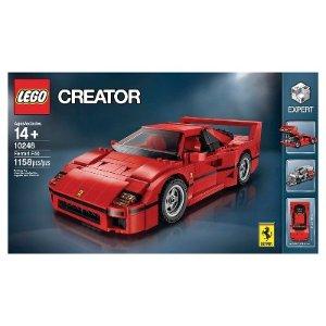$89.99LEGO Creator Ferrari F40, model 10248