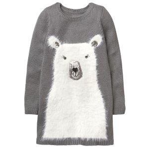 Fuzzy Polar Bear Dress