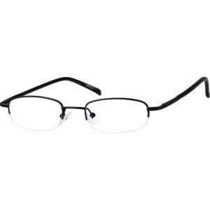 Black Lightweight Oval Eyeglasses #4520 | Zenni Optical Eyeglasses