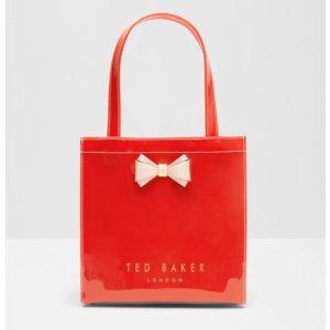 ARACON Bow detail small shopper bag