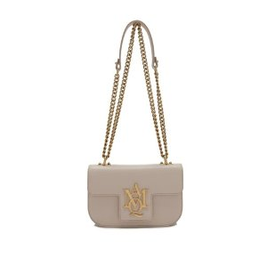 Alexander McQueen Small Insignia Chain Satchel