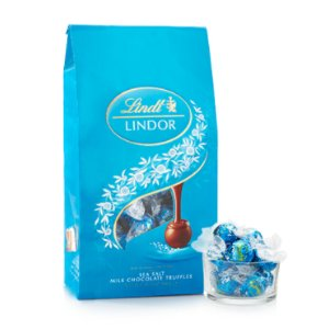 Sea Salt LINDOR Truffles 75-pc Bag (31.7 oz) | Lindtusa
