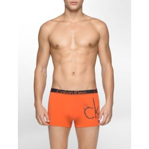 ck id cotton anarchy low rise trunk | Calvin Klein