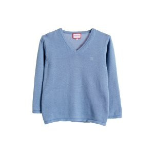 Basic Knitted Sweater by Neck & Neck at Gilt
