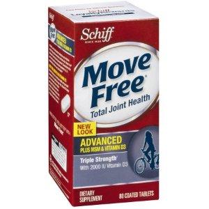 Schiff Move Free Advanced Total Joint Health + MSM/Vitamin D3, 80 CT - Walmart.com