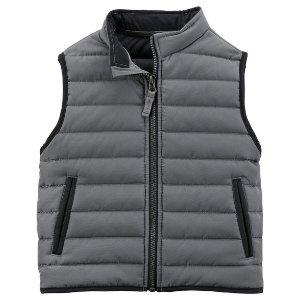 Zip-Up Puffer Vest