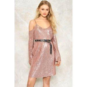 Spotlight Sequin Dress