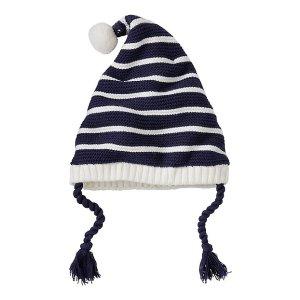 Kids Stripey Fleece Lined Gnome Cap | Boys Sale Accessories