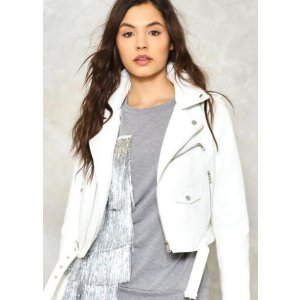 Ride On Vegan Leather Cropped Moto Jacket | Shop Clothes at Nasty Gal!