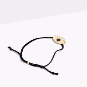 Corded Charm Bracelet