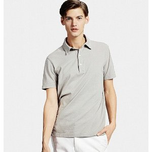 MEN'S WASHED PIQUE POLO SHIRT | UNIQLO US