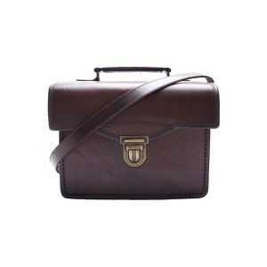 Best Selling Small Brown Leather Satchel/Camera-Bag by Beara Beara
