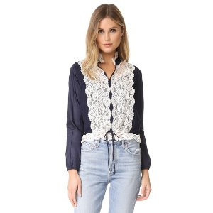 See by Chloe Lace Front Blouse | 15% off first app purchase with code: 15FORYOU