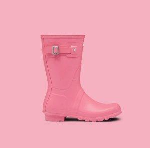 低至5折粉色Hunter鞋子超值特卖