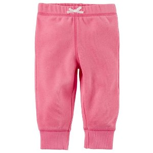 Pull-On Fleece-Lined Pants
