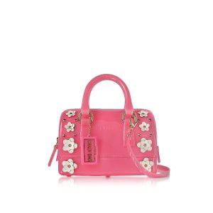 Furla Rose Candy Lilla Sweetie Mini Satchel Bag