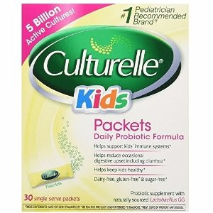 $15.59Culturelle Kids Packets Daily Probiotic Formula with Naturally Sourced Lactobacillus GG, 30 Count