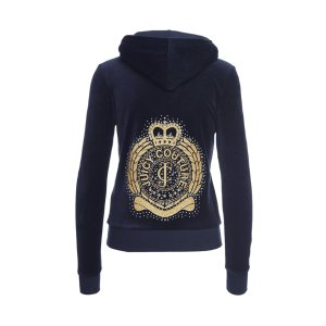 COLLEGE CREST LOGO VLR ORIG JACKET - Juicy Couture