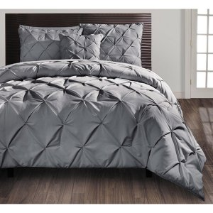 VCNY Carmen Pintuck 4-piece Comforter Set - Free Shipping Today - Overstock.com - 14738351
