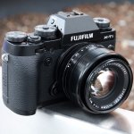 Fujifilm X-T1 Mirrorless Camera Body, Black