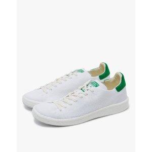 Adidas Stan Smith Primeknit in White/Green