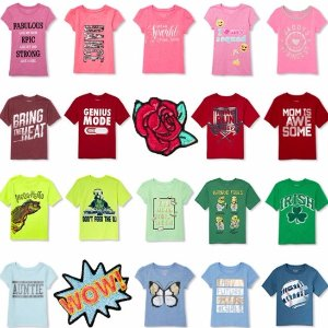 $2.99 + Free ShippingAll Short Sleeve Graphic Tees @ Children's Place