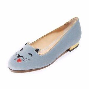 Charlotte Olympia Flirty Kitty Flats | SHOPBOP
