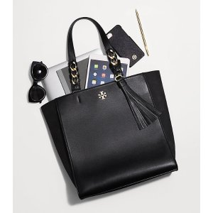 Tory Burch Brooke 黑色托特包
