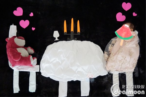 创意diy宝宝百天照:在家也可以拍的美美的