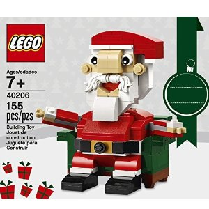 $9.99LEGO Holiday Santa 40206 Building Kit (155 Piece)