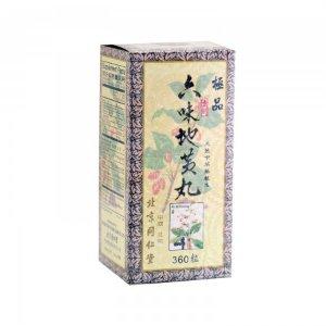 LIU WEI DI HUANG WAN Herbal Supplement 360 Pills