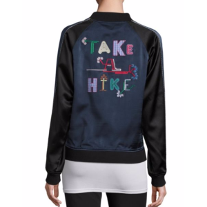 Opening Ceremony - Take A Hike Reversible Silk Varsity Jacket - saks.com
