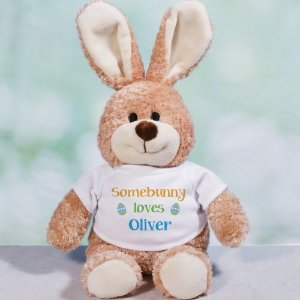 "Personalized 10"" Brown Bunnies @ 800 Bear"