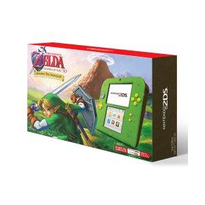 $79.99黒五价:Nintendo 2DS 《塞尔达传说:时之笛》 预装限定版
