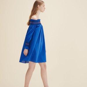 RESKY Off-the-shoulder dress - Dresses - Maje.com