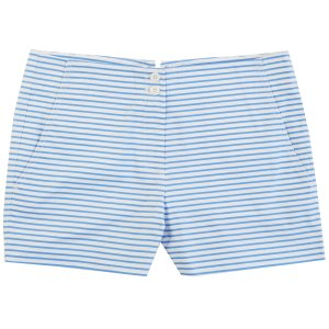 Striped Lace-Up Short (4