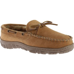 Mens Clarks Outside Seam Moccasin Slipper - FREE Shipping & Exchanges