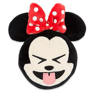 Minnie Mouse Emoji Plush - 4'' | Disney Store