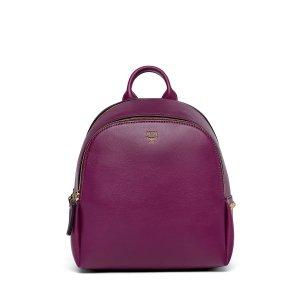 Mini Duchess Polke Studs Backpack in Electric Pink