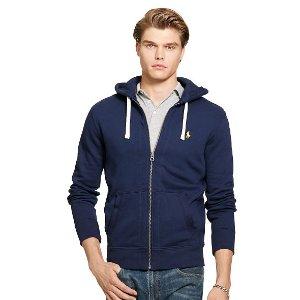 Cotton-Blend-Fleece Hoodie - Sweatshirts � T-Shirts & Sweatshirts - RalphLauren.com